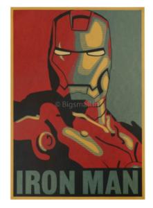 Iron Man Wall Poster