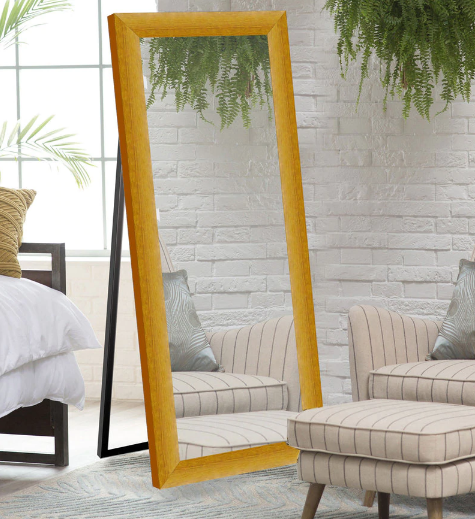 Solid Wood Full Length Mirror