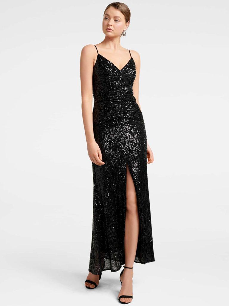 Forever New Black Maxi Dress