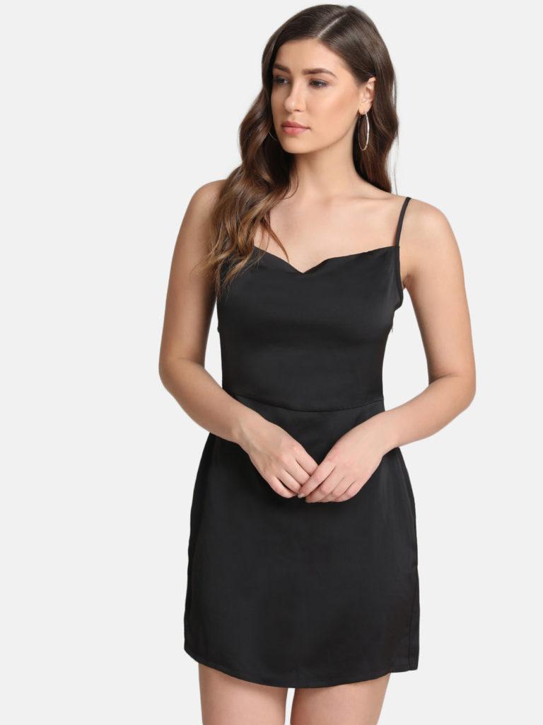 Kazo Black Dress