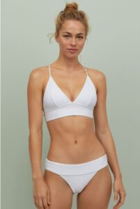 white sexy bikini