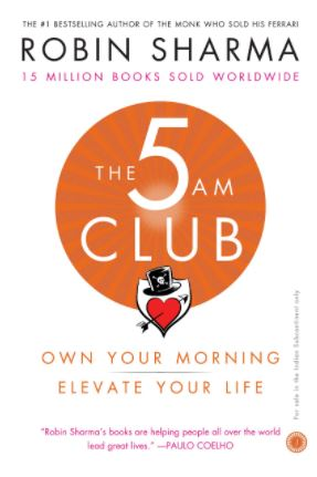 5AM club book to gift