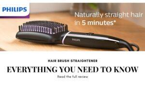 Phlips hair brush straightener review