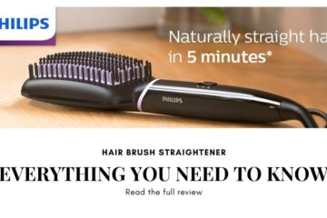 Philips hair straightener brush review