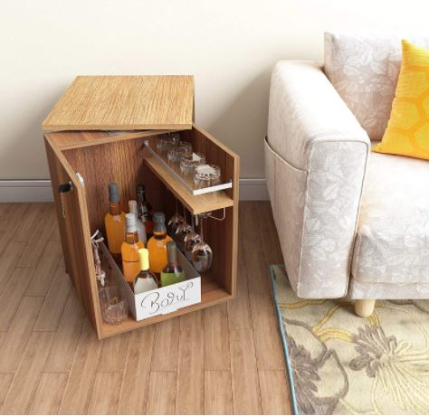 bar unit for wedding gift