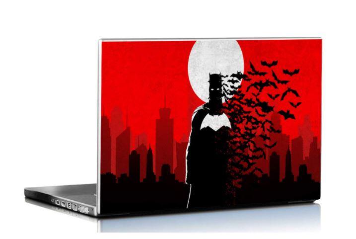 gift for batman lovers laptop skin