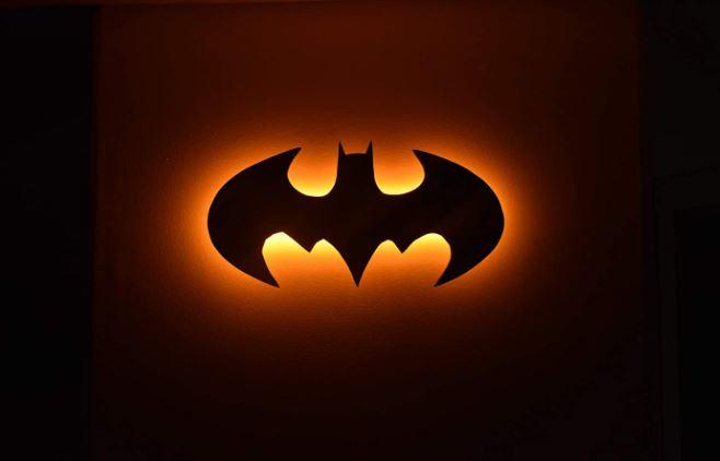 batman wall light