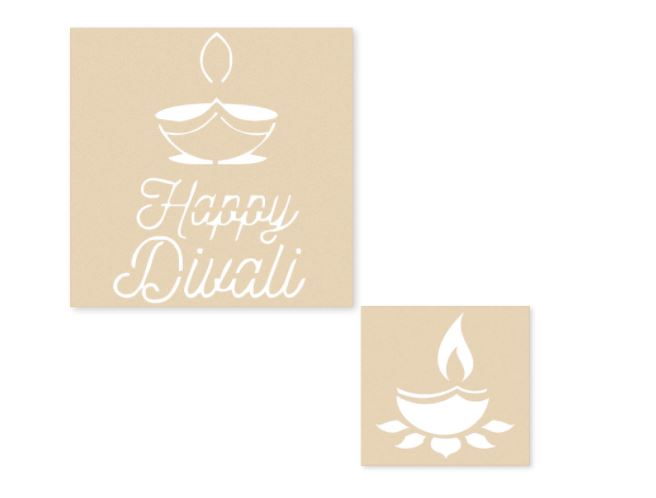 rangoli stencil for Diwali