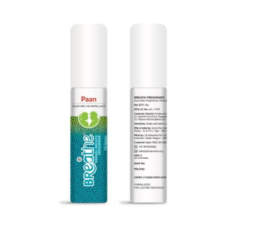 mouth spray for first wedding night