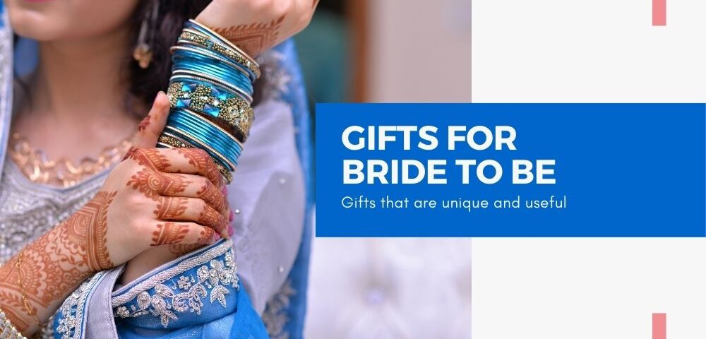bride to be gifts blog