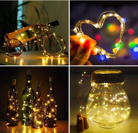cork string light to gift