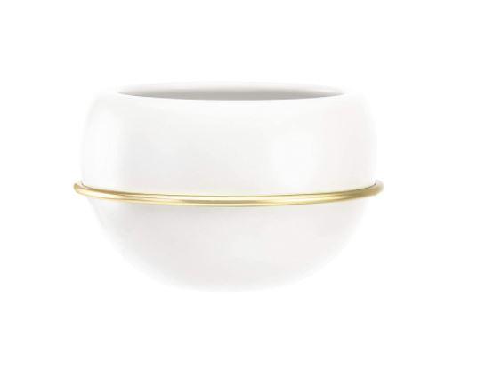 white round pot for plant
